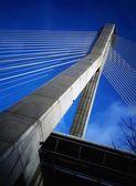 Motorway Bridge Over River Boyne Near Drogheda, Co Meath, Ireland — Stock Photo