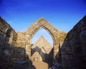 Ancient Abbey, Ardmore, Co Waterford, 12Th Century, Ireland — Stock Photo