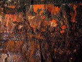 Rust On Wrecked Boat At Baltray Beach In County Louth, Ireland — 图库照片