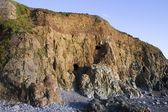 Mining Galleys, Knockmahon Cove, Copper Coast, Co Waterford, Ireland — Stock Photo