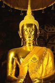 Golden Buddha, Wat Po Temple — Foto Stock