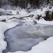 Stock Photo: Snowy Creek