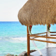 Stock Photo: Cancun, MayRiviera, Mexico, Beach Hut