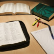 Bible And Study Material — Stock Photo #31762895