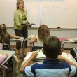 Stock Photo: Teaching In Classroom