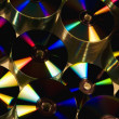 Stock Photo: Stacks Of Compact Discs