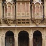 Facade Of House, Patwon Ki Haveli, Rajasthan, India — Stock Photo #31764289