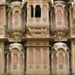 Facade Of House, Patwon Ki Haveli, Rajasthan, India — Stock Photo