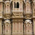 Facade Of House, Patwon Ki Haveli, Rajasthan, India — Stock Photo #31765391