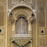 Sandstone Facade Of The Historic Jaisalmer Mansion Patwon Ki Haveli — Stock Photo #31765439