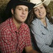 Couple Wearing Western Clothing — Stock Photo #31767099