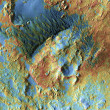 Stock Photo: Mars Topography