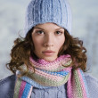 WomWearing Winter Clothing — Stock Photo #31768265