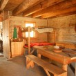 Interior Of A Historical Home In Fort Edmonton, Alberta — Stock Photo #31768285