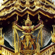 Architectural Detail Of The Grand Palace, Bangkok, Thailand — Stock Photo