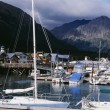 Boat Dock At Seward, Alaska — Stock Photo