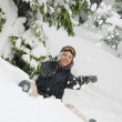 Stock Photo: Having Fun In Snow