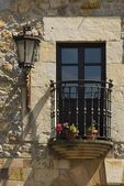 Balcony In Escalante, Cantabria, Northern Spain — Stock Photo