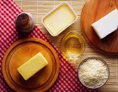 Food, Containing Oils And Fats — Foto Stock