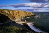 Copper Coast Near Bunmahon, County Waterford, Ireland — Stock Photo