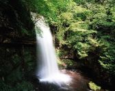 Glencar Waterfall, Co. Antrim, Ireland — Stock Photo