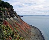 Bay Of Fundy, Nova Scotia, Canada — Stock Photo