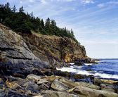 Nova Scotia Shoreline — Stock Photo