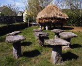 Traditional Farming, Haystacks, Bunratty Co Limerick, Ireland — Stock Photo