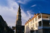 Huguenot Church And Historic Buildings, Charleston, South Carolina, Usa — Stock Photo