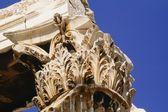 Capital Of Corinthian Column, Temple Of Olympian Zeus, Athens, Greece — Stock Photo