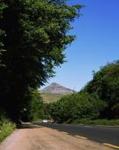 Rural Road, Glen O' The Downs, Sugarloaf Hill, Co Wicklow, Ireland — ストック写真