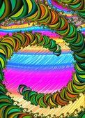 Imagem gerada por computador — Foto Stock