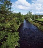 River Bann, Banbridge, Co Down, Ireland — Stok fotoğraf
