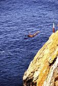 Cliff Diving — Foto de Stock