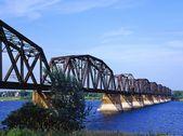 Train Bridge — Stock Photo