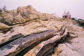 Pemaquid Point Lighthouse, Bristol, Maine, U.S.A — Stock Photo