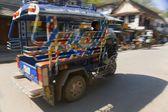 Local Transportation, Luang Prabang, Laos — Stok fotoğraf