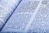 An Dictionary Open To The Word Grace — Stock Photo