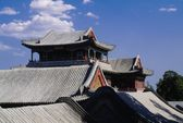 Roof Of Pavilion In Summer Palace In Beijing, China — Stock Photo