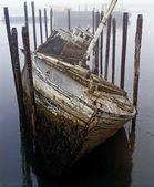 A Broken Boat — Stock Photo