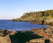 Bay Of Fundy, Nova Scotia — 图库照片