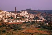 Montoro, Cordoba, Andalusia, Spain, Spire Of San Bartolome Church In The Distance — Stock Photo
