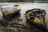 Weathered Boats — Foto de Stock