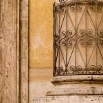 Decorative Pillar, Rome, Italy — Stock Photo