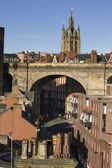 Newcastle Upon Tyne, Tyne And Wear, England, Europe — Stock Photo