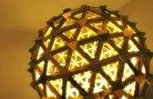 Round Ball With Triangles — Foto de Stock
