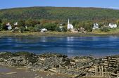 Annapolis River, Annapolis Royal, Nova Scotia, Canada — Stock Photo