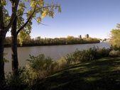 River, Winnipeg, Manitoba, Canada — Stock Photo