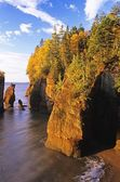 Hopewell Rocks, Shepody Bay, New Brunswick, Canada — Stock Photo