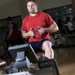 Man Working Out In A Gym — Stock Photo #31790631